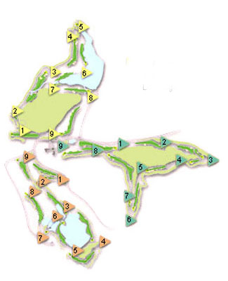 Course Map Almenara Golf Club