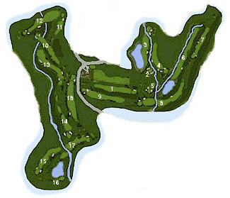 Course Map Los Arqueros