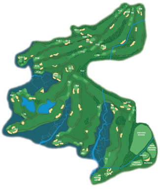 Course Map El Rompido North