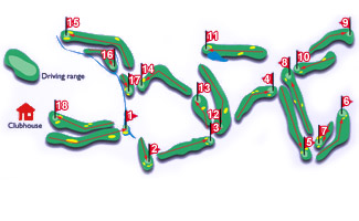 Course Map Nuevo Portil Golf