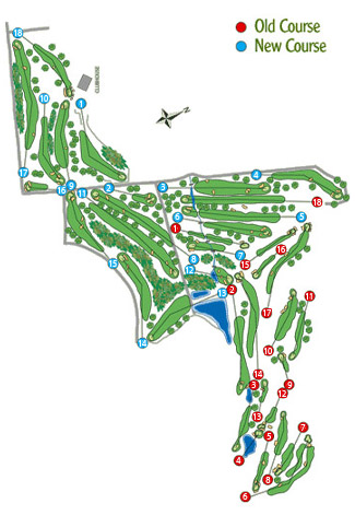 Course Map Atalaya Golf Old Course