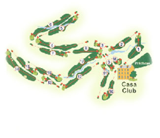 Course Map Bellavista Golf Club