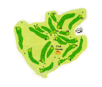 Course Map Real Club de Campo de Cordoba