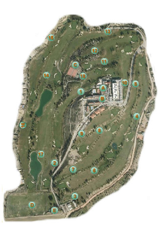 Course Map Granada Golf Club