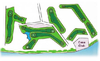 Course Map Los Moriscos Golf Club