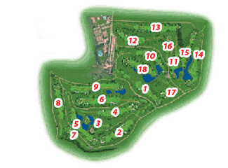 Course Map Real Club de Sevilla