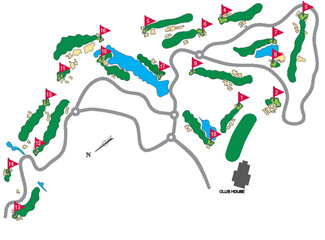 Course Map Montecastillo