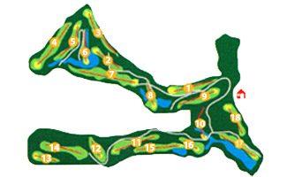 Course Map La Reserva at Sotogrande