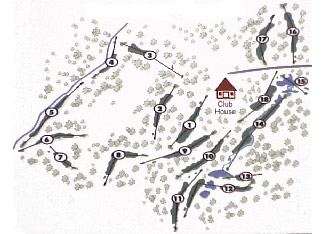 Course Map Cabopino Golf Club