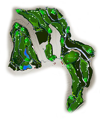 Course Map Finca Cortesin Golf