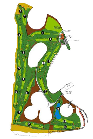 Course Map Maspalomas Golf Course