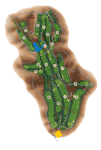 Course Map Salobre Golf & New Course