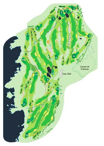 Course Map Buenavista Golf Course