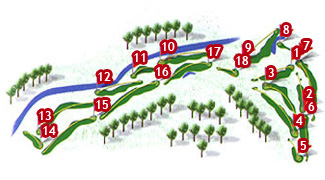 Course Map Canyamel Golf Course
