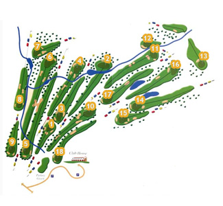 Course Map Son Termes Golf Course