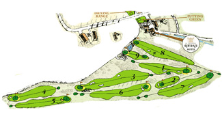 Course Map La Reserva Rotana Golf Course