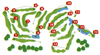 Course Map Maioris Golf Course