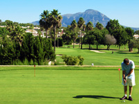 Open Jávea Golf Course Page
