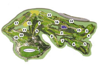 Course Map Sant Joan Golf Course