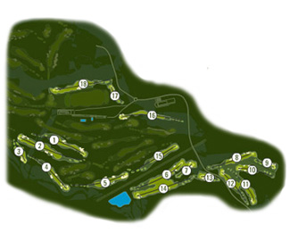 Course Map Real Club de Golf El Prat