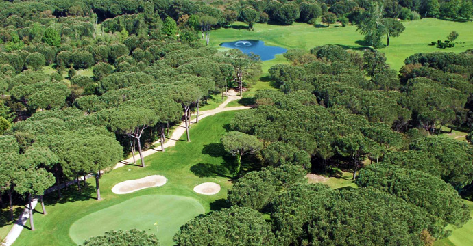 Costa Brava Golf Course Green