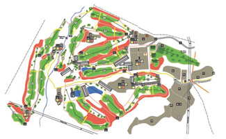 Course Map Madrid Federation Golf Course
