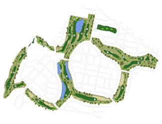 Course Map Aranjuez Golf Course
