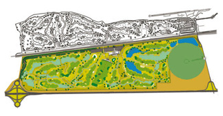 Course Map El Encin Golf Course