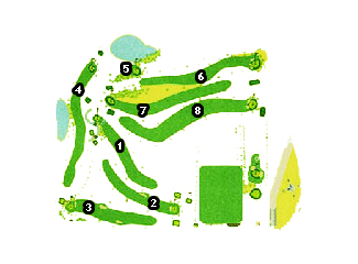 Course Map La Morgal Golf Course