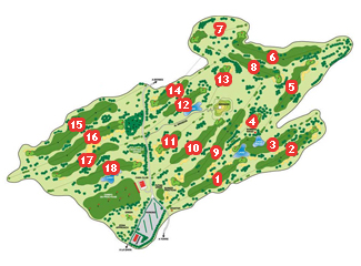 Course Map La Rasa de Berbes Golf Course