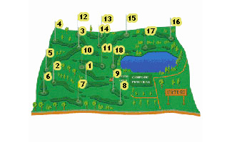 Course Map Izki Urturi Golf Course