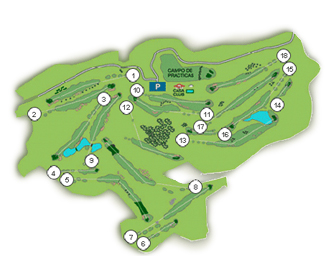 Course Map Real Nuevo Club Basozabal Golf Course