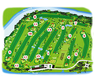 Course Map Abra del Pas Golf Course