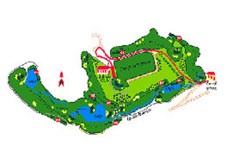 Course Map Cabanillas Guadalajara Golf Course