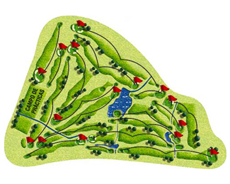 Course Map Riocerezo Golf Course