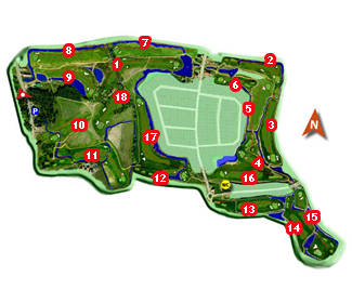 Course Map Aldeamayor Golf Course