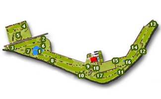 Course Map Entrepinos Golf Course