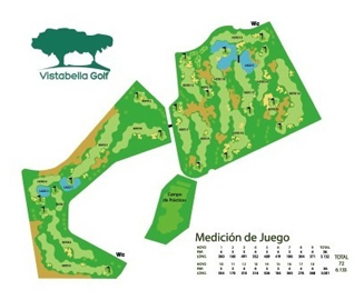 Course Map Vistabella Golf
