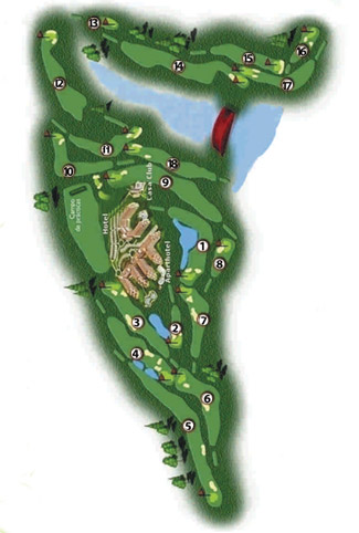Course Map El Rompido South